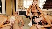 Jane Darling , Stacy Silver et Suzie Diamond : Orgie Hard dans toutes les positions et luxure no limit pour trois bombes ultrachaudes
